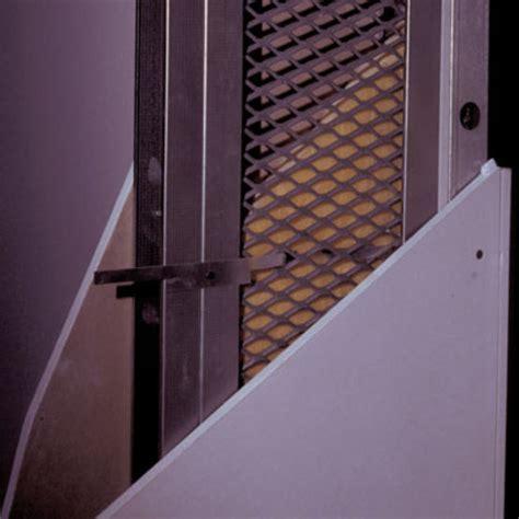 rideau metallique anti effraction cloison anti effraction sur ossature m 233 tallique siniat