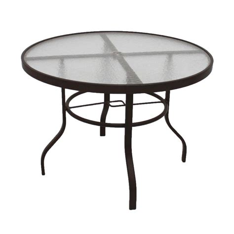 hton bay table l hton bay patio table replacement glass hton bay