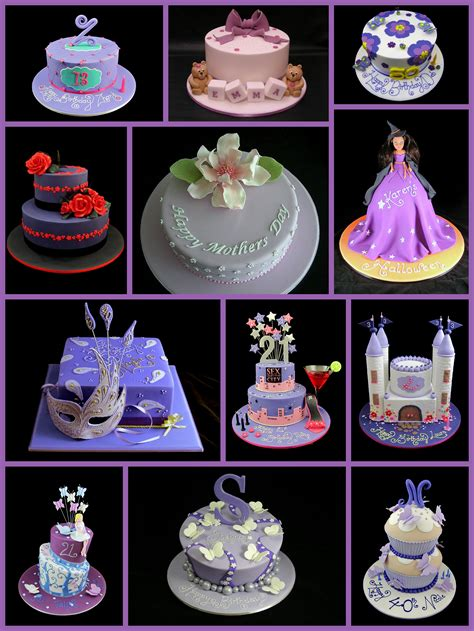 Purple Cake Decorating Ideas - birthday cake ideas inspired by page 2