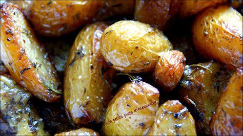 petit plat facile à cuisiner pommes de terre grenailles confites si facile et si