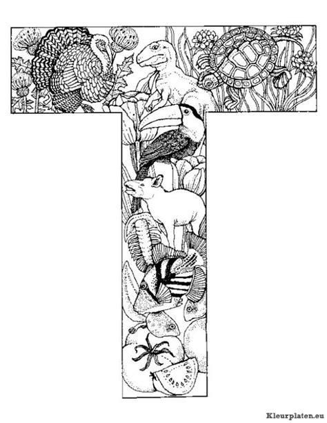 Dieren Alfabet Kleurplaten Nl by Alfabet Dieren Kleurplaat 595392 Kleurplaat