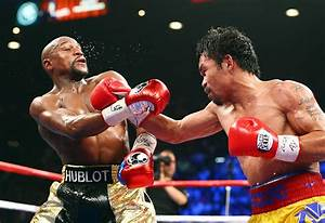 The fight of the century in pictures: Mayweather vs