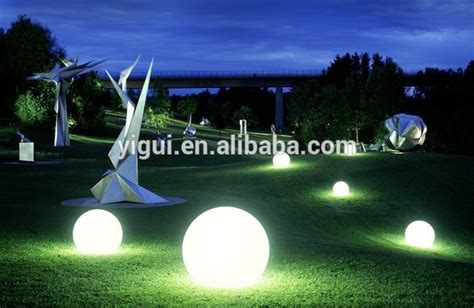 led light balls multi color changing ballsoutdoor plastic