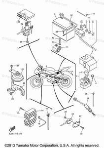 2008 Yamaha R6 Wiring Diagram Parts