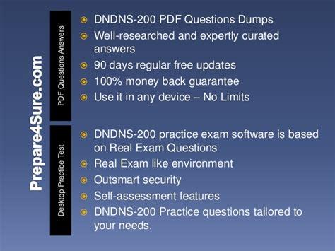 Dndns200 Practice Exam Questions  Real Dell Dndns200 Dumps