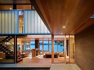 Design, Inspiration, The, Modern, Courtyard, House