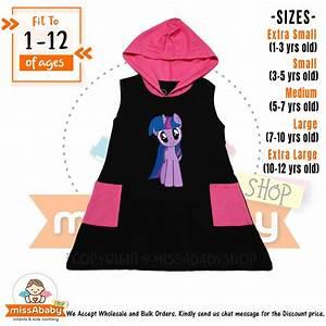 Softex Size Chart My Little Pony Twilight Sparkle Hoodie Dress For Kids 1