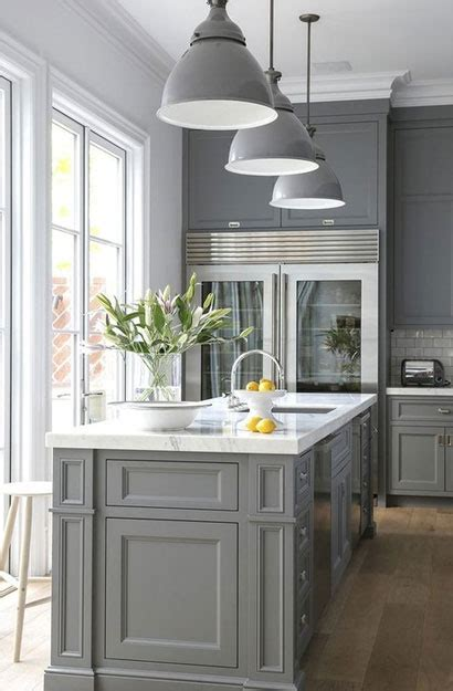 psychology   gray kitchen cabinets   popular home remodeling contractors