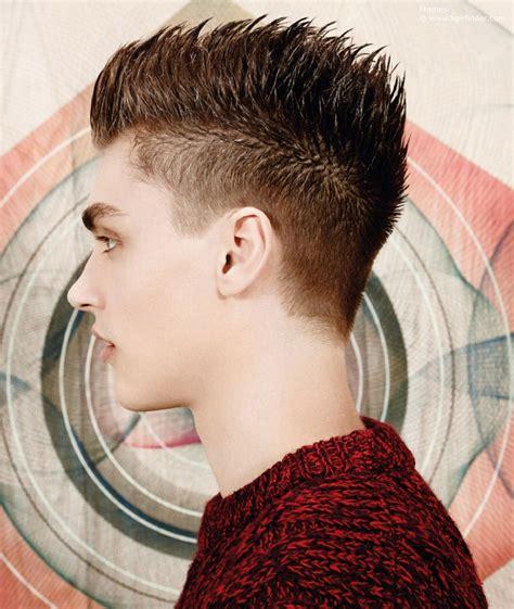short mens hair   hedgehog style  sharp spikes