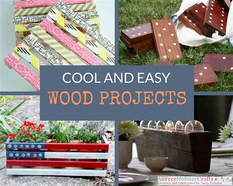 cool wood projects  diy pallet ideas  easy wood
