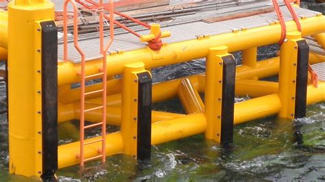 Boat Landing Design by Rubstrips Trelleborg Rubber Protects Critical Structural