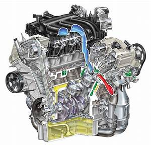 2007 Ford Fusion 3 0l 6-cylinder Engine   Pic