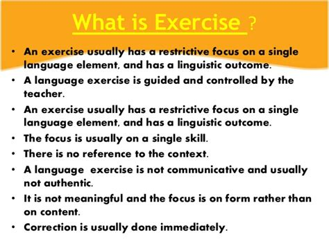 What Is The Difference Between Task And Exercise