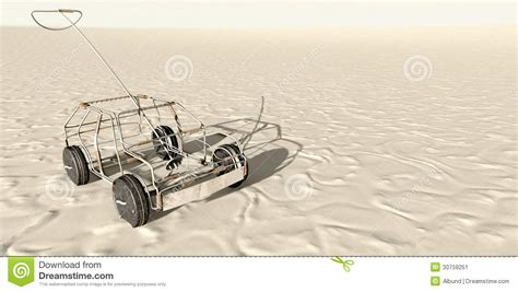 Wire Car by Wire Car In The Desert Top Stock Image Image 30759251