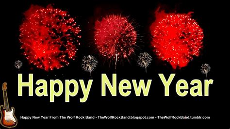 best happy new year song rock happy new year song fireworks remix happy new year card yes we will we will rock you