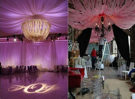 ceiling treatments  jersey wedding planner nj