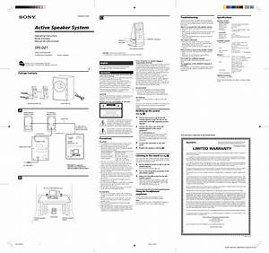 Sony Srs D21 Wiring Diagram