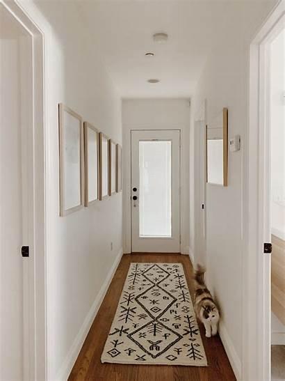 Hallway Narrow Decorating Hallways Simple Pasillos Estrechos