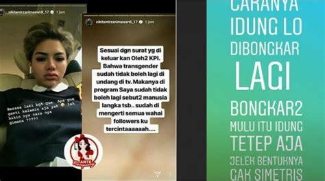 Lucinta Luna Dan Nikita Mirzani Perang Instagram