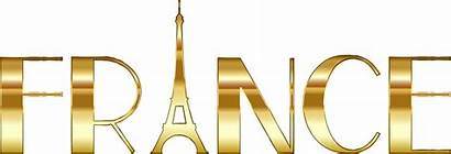 France French Clipart Eiffel Tower Gold Culture