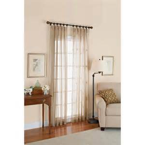 better homes and gardens satin stripe 84 quot length window
