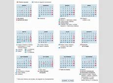 Calendario laboral 2016 ocho festivos para toda España