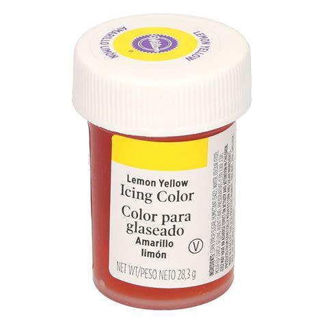 colorante alimentare giallo colorante alimentare giallo wilton colorante in gel