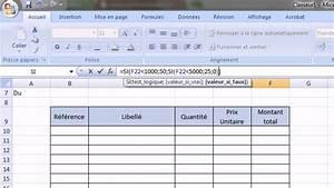 Formule Si Excel : excel 2007 exercice sur les fonctions si et estvide meubles si exercice 7 youtube ~ Medecine-chirurgie-esthetiques.com Avis de Voitures