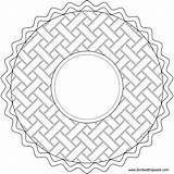 Coloring Pie Pi Pages Mandala Happy Transparent Circle Pattern Paste Eat Embroidery Colouring Patterns Blank Version Don Related Piday Mandalas sketch template