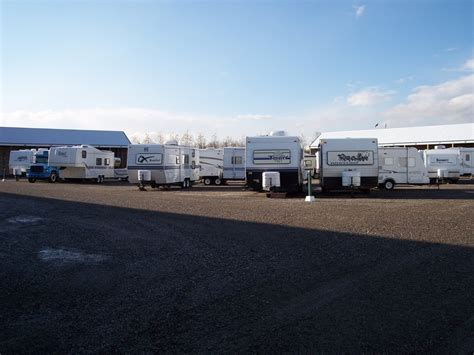 Outdoor Boat Storage by Covered Rv Storage Calgary Recreational Vehicles Boats