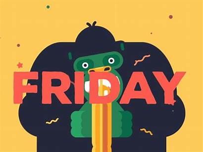 Friday Yay Gifs Happy Dribbble Inspiration Designers
