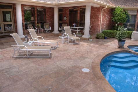 carvestone can cover concrete pea gravel cool deck and