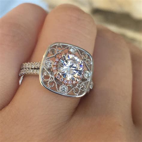 15 Unique Engagement Rings For The Non Traditional Bride. 3.9 Carat Engagement Rings. Pure Tungsten Engagement Rings. Natural Wedding Engagement Rings. Crest Rings. Tree Wedding Rings. Black And White Engagement Rings. Rounded Square Engagement Rings. Dual Band Engagement Rings