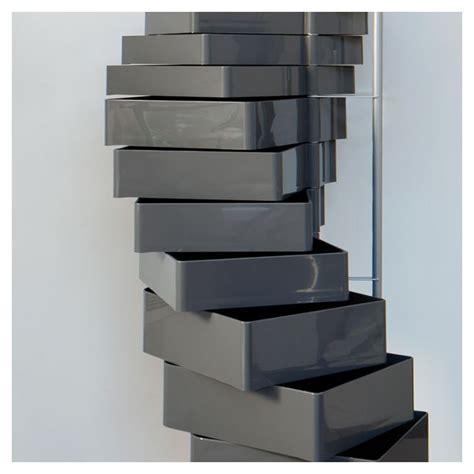 colonne de rangement bureau spinny rangement design mural ou à roulettes b line