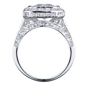 5 ct engagement rings vedete 39 s 5 ct cz engagement ring