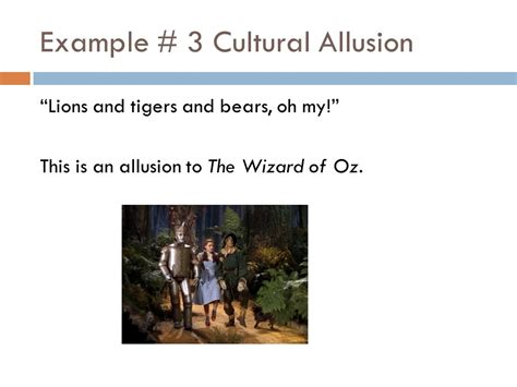 Biblical Allusions Examples
