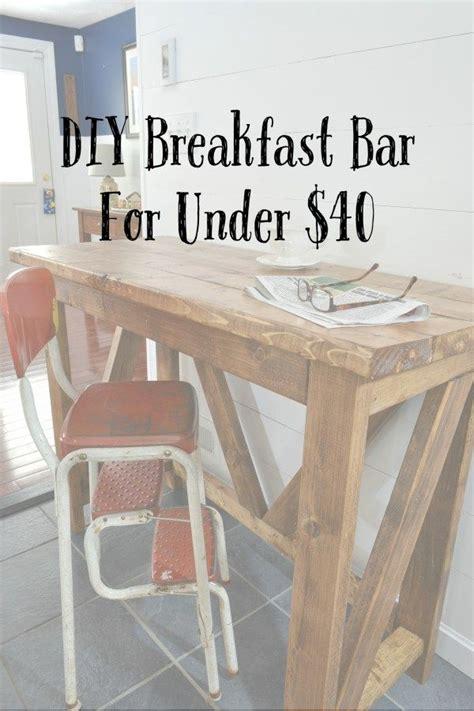inexpensive diy breakfast bar bar table diy diy