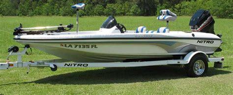 Nitro Bass Ski Boat by 2005 Nitro Nx 882 Bass Boat Immaculate The Hull