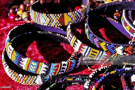 traditional zulu beadwork high res stock photo getty images