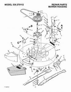 Craftsman 536270112 User Manual Rear Engine Rider Manuals