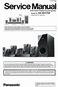 Panasonic Sc Xh170 Home Theater System Service Manual