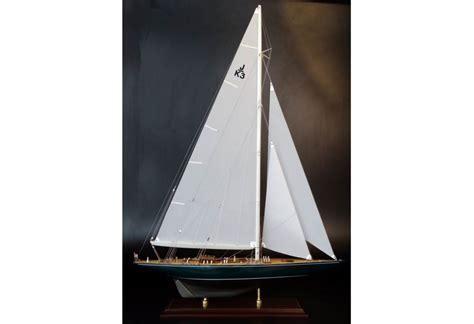 Shamrock V. 1930 J Boat Replica Model