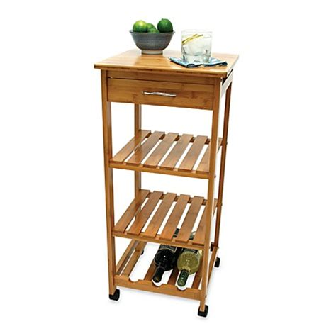 kitchen cart with wine storage lipper international bamboo rolling cart with wine rack 8193