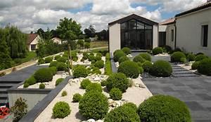 Aménagement Jardin Extérieur : emejing jardin amenagement exterieur contemporary ~ Preciouscoupons.com Idées de Décoration