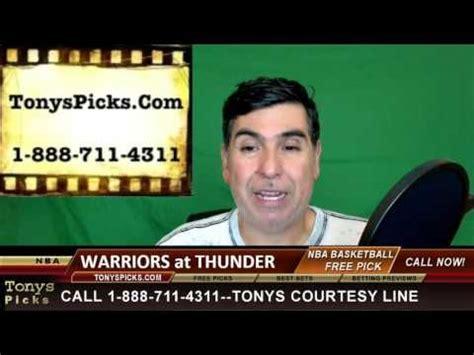 Golden St Warriors vs. Oklahoma City Thunder Pick ...