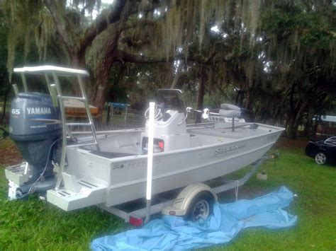 Seaark Jet Drive Boats For Sale by 2012 Used Sea Ark 1872 Jet Tunnel Jon Boat For Sale