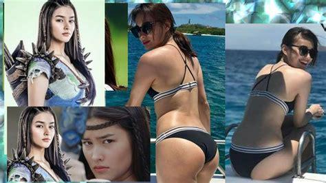 liza soberano swimsuit liza soberano omg wearing two piece bikini youtube