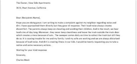 write  formal complaint letter   coworker lied