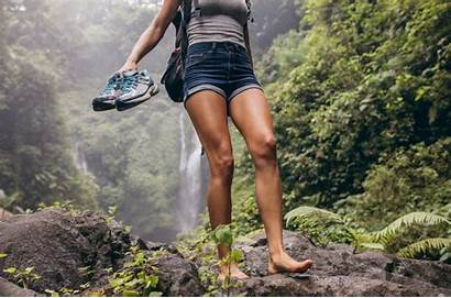 Barefoot Walking Woods Brain Affect Does