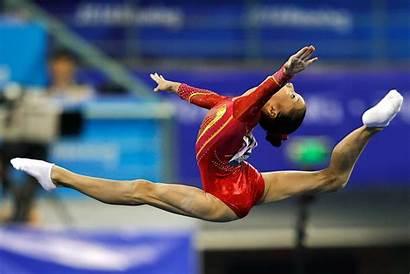 Gymnastics Championships China Chunsong Shang Floor Nanning